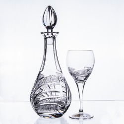 Wine set with glasses...